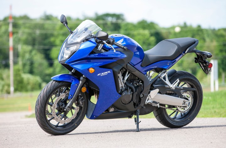 First Ride: Honda CBR650F