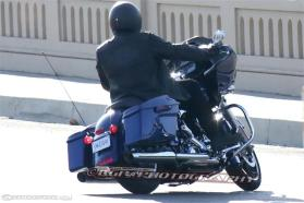 The Road Glide, from the back. Photo: Motorcycle-USA.com/KGP Spy Photography