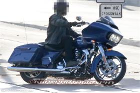 The Road Glide still has a shark-nose fairing, but it's been updated. Photo: Motorcycle-USA/KGP Spy Photography