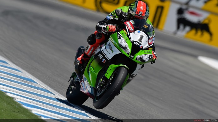 Tom Sykes held his championship lead with a third and a first at Laguna Seca