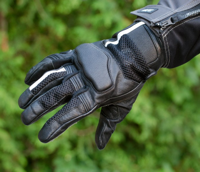 There you go, gloves with mesh. A good combo for the summer.