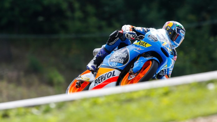 Alex Marquez ruined his race by celebrating too early after forgetting which lap he was on.