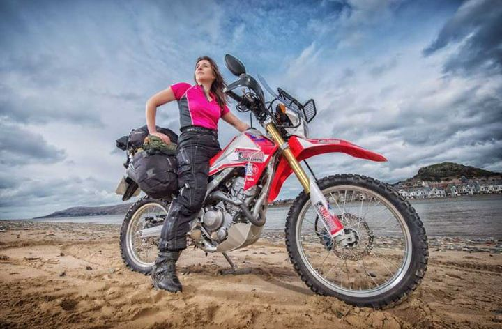 Video: Steph Jeavons' adventure continues
