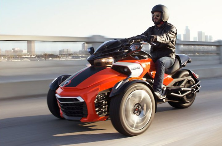 Enter Facebook contest to ride Can-Am's new Spyder F3