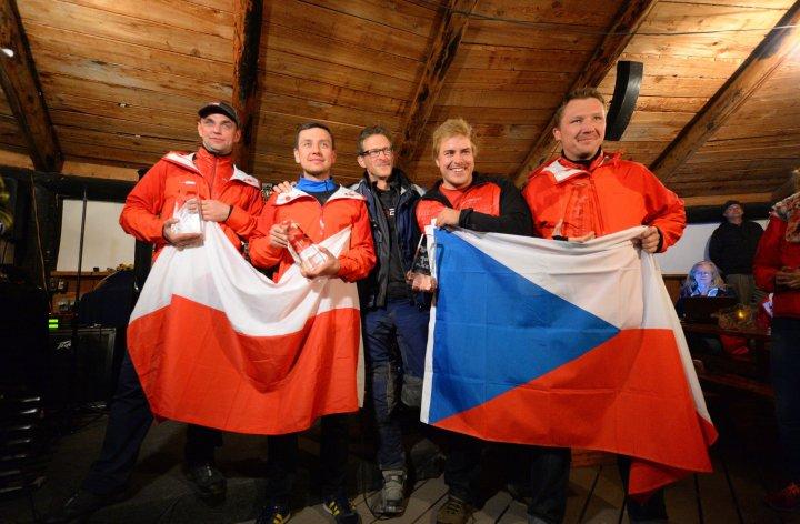 Les Européens remportent le GS Trophy