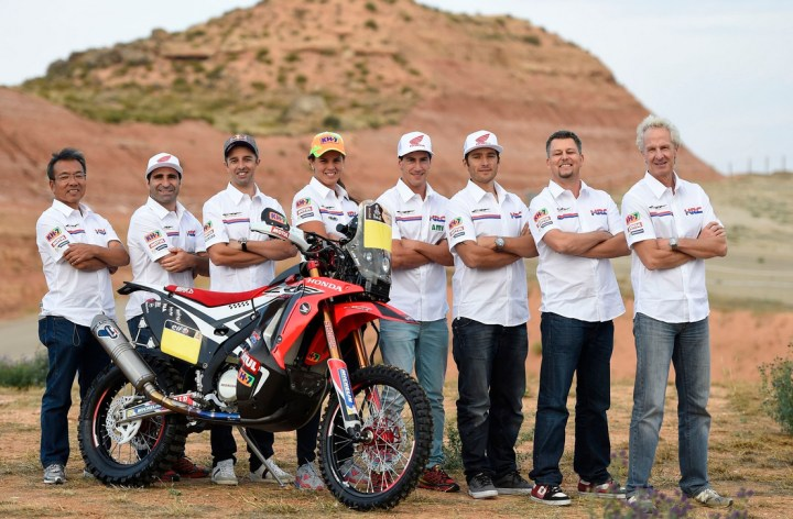 Honda announces Dakar Rally lineup