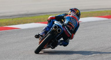 Alex Marquez is still in the lead in Moto3, but with a narrow margin.