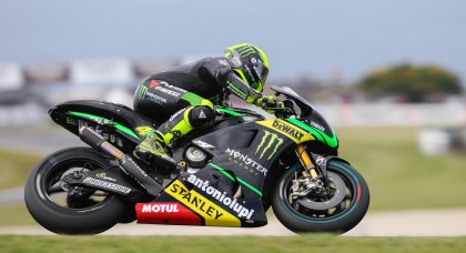 Both the Espargaro brothers (Pol is pictured here) ended up in the weeds.