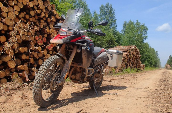 BMW F800GSA Long Termer update – the dirt