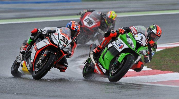 Marco Melandri (33) doesn't want to move to MotoGP when he has a winning bike in WSB.