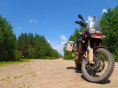 Eventually we bonded and had many a great day riding the trails and scouting for the Fundy Adventure Rally.