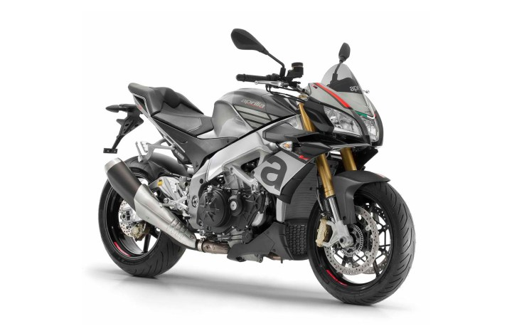 Aprilia shows big-bored Tuono RR