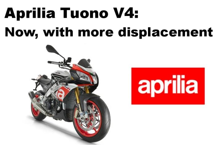 Aprilia Tuono V4 1100 RR image leaked