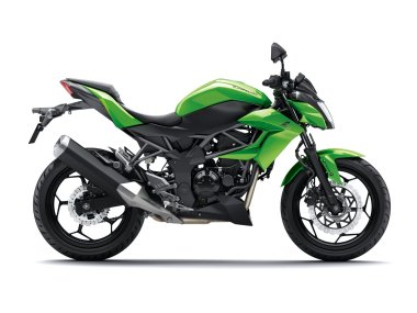 The Z250SL is a stripped-down version of the Ninja 250SL, powered by a single-cylinder motor.