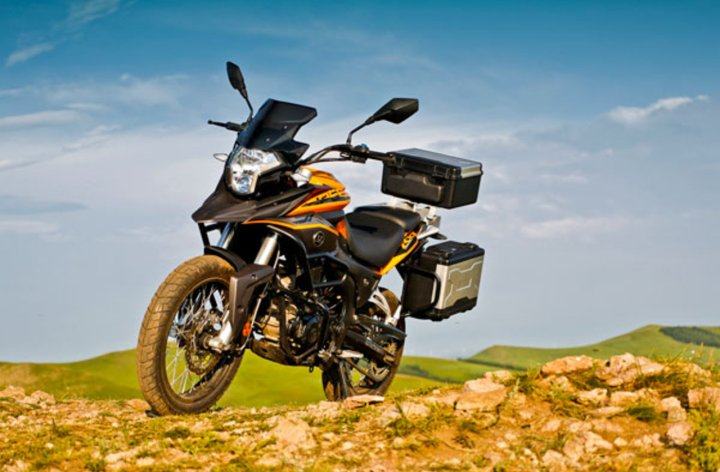 CSC announces accessory lineup for RX3 adventure bike