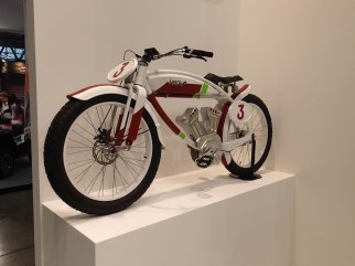 Now this is a funky way of making an electric bike.