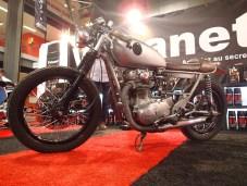 Always good to see the old Yamaha XS650 still around.
