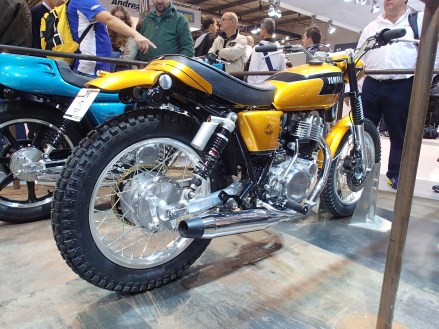 Sadly Yamaha's SR400 never made it to Canada, but here's a look at one that's been tweaked into Scramble mode.