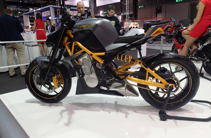 Hero at EICMA – prepping for North America