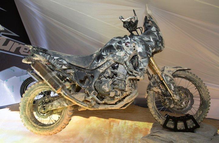 En vidéo : Honda True Adventure