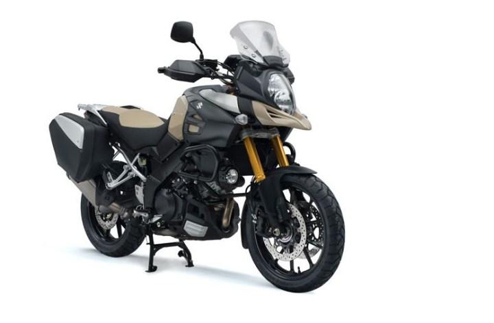 Europe gets V-Strom 1000 Desert Edition