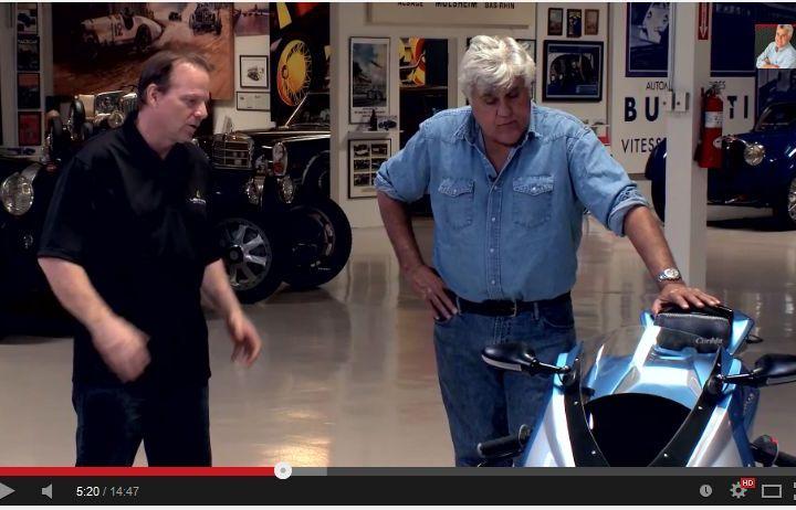 Video: Jay Leno rides the Lightning