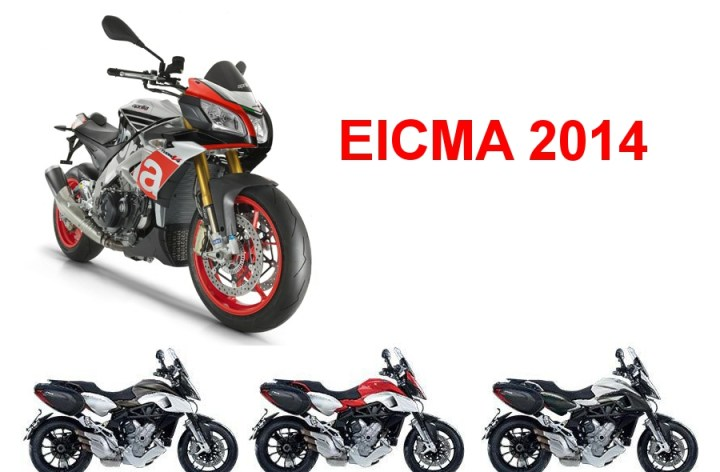 EICMA 2014 : avant-première Aprilia et MV Agusta