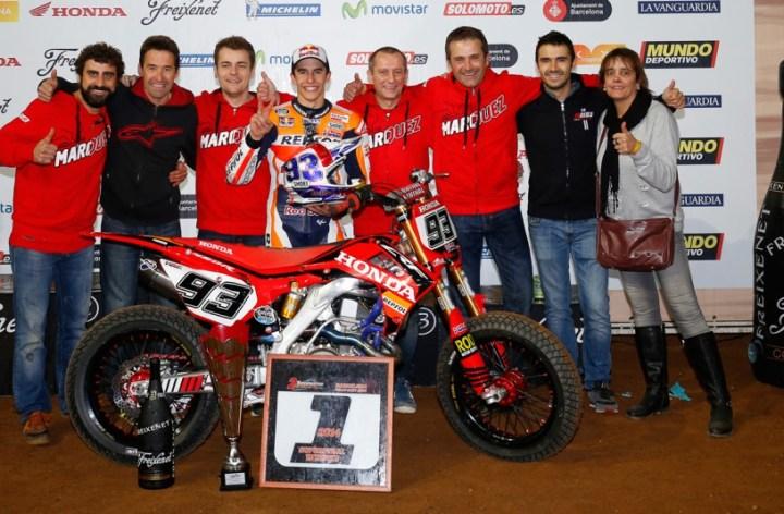 Marquez wins Superprestigio