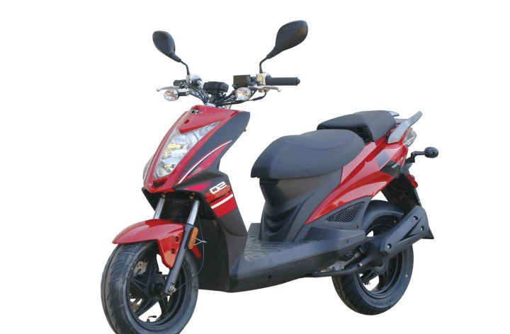 Kymco brings Super 8 R Naked 50 to Canada