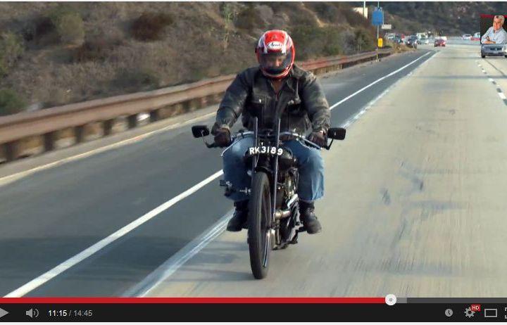 Video: Jay Leno rides Brough Superior