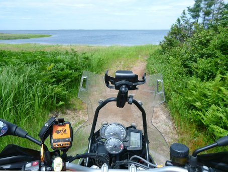 Ever since I saw all the beaches on the Magdalen Islands, I've dreamed about returning when they're open for legal riding.