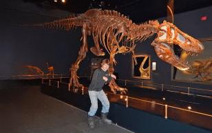 Ed's T-Rex impression