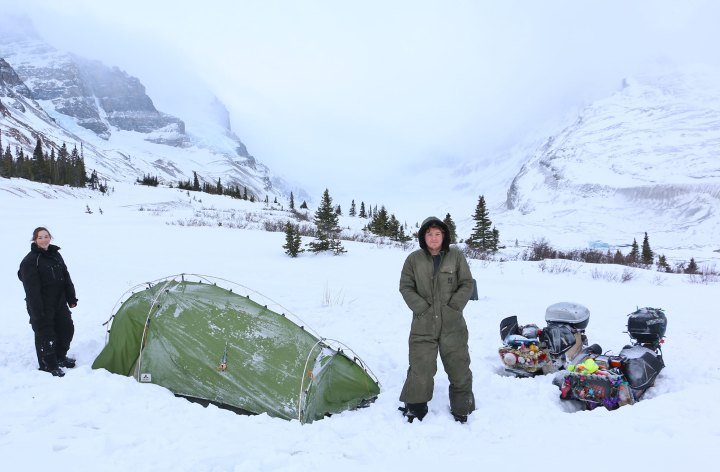 Ed's March across Canada – BC to Alberta