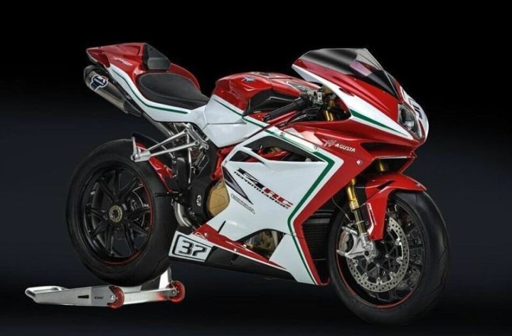 No new superbikes from MV Agusta, for now