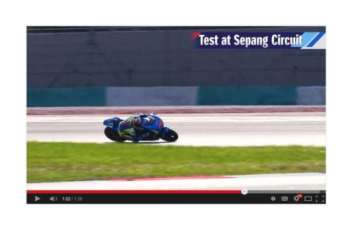 Video: Suzuki MotoGP team talks progress