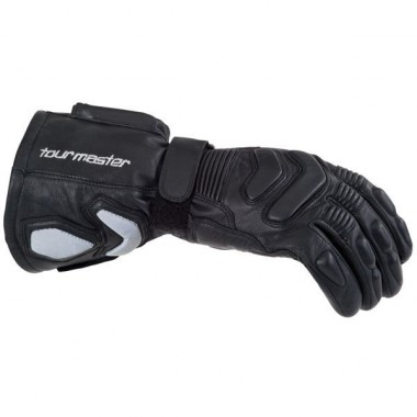 Tourmaster didn't forget to include protection in their waterproof gloves.