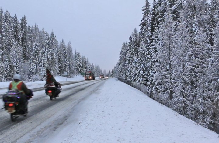 Newsletter: Riding in snow