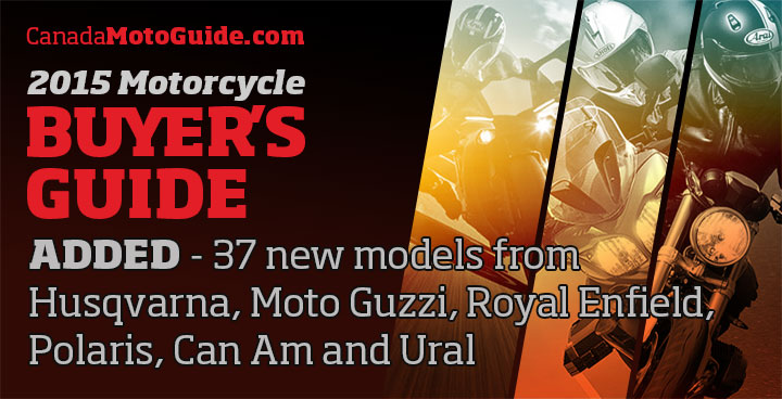 2015 Buyer's Guide – 37 additional models