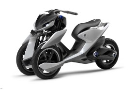 The 03GEN-F has naked-bike styling, but probably doesn't have the horsepower to back up its looks.