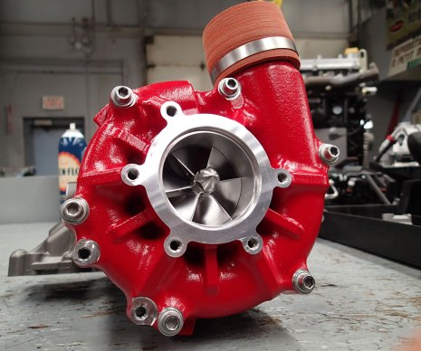 The H2R supercharger