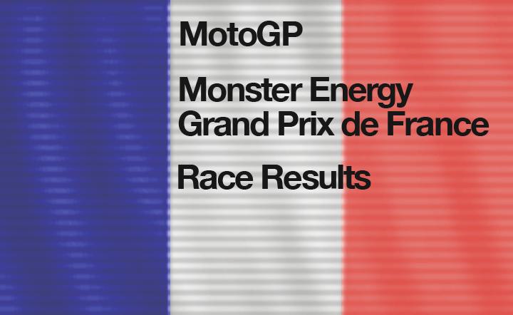 MotoGP Round 5 – Race Results