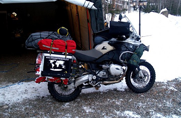 Stolen Round-the-world bike still missing in Yukon