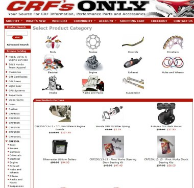 CRFS Only is going to help us kit out the Honda this summer.