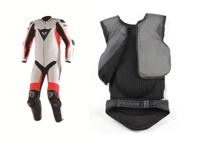 Dainese airbag suits to be available in North America this fall