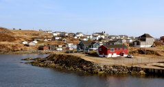 Heading in to Port Aux Basques.