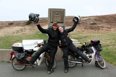 They did it! Despite months of cold and snow, Ed and Rachel reached Cape Spear. Now, the journey heads south.