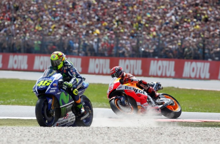 The only thing anyone talks about : Assen 2015.  (Photo: Crash.net)