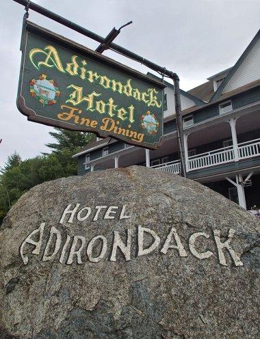 The Adirondack Hotel.