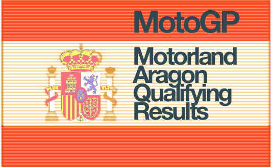 MotoGP – Motorland Aragon Qualifying Results