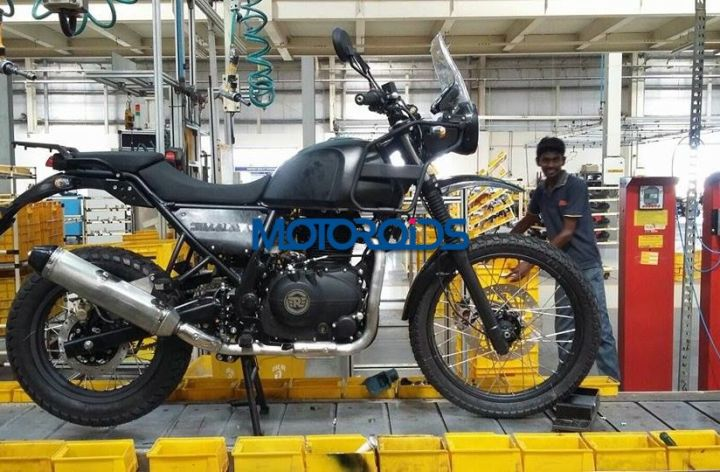 Spied! More photos of the Royal Enfield Himalayan